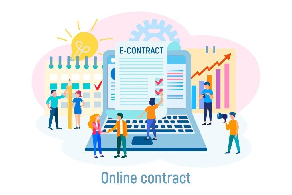electronic signature online document blog feature image DocSign Pro